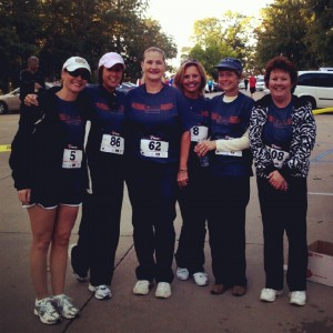 Zonta Run staff group picture
