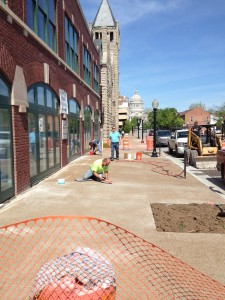 Sidewalk COnstruction 3
