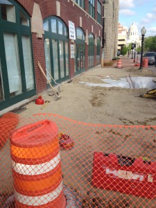 Sidewalk Construction 2