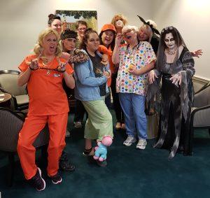 Halloween Staff 2018
